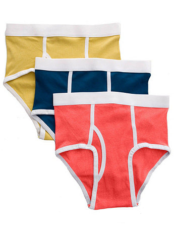 Organic Baby Rib Brief (3-Pack)