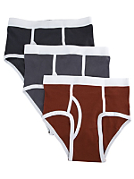 Baby Rib Brief (3-Pack)