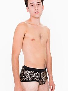 Leopard Print Baby Rib Brief