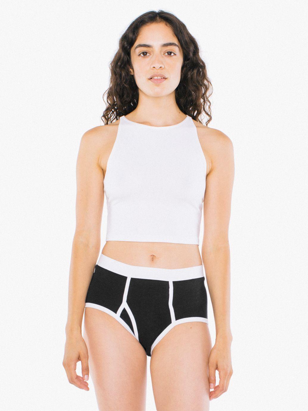 apparel models American underwear