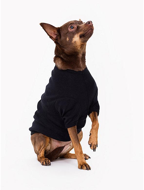 Black Baby Rib Dog T