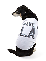 Screen Printed Baby Rib Dog T - Made in LA