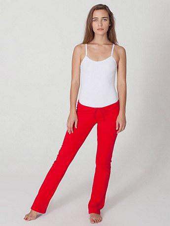 California Fleece Straight Leg Pant