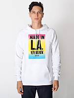 Made in LA Screen Printed California Fleece Pullover Hoodie
