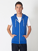 California Fleece Sleeveless Zip Hoody