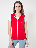 Unisex California Fleece Sleeveless Zip Hoodie