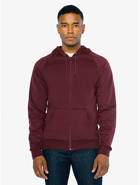 California Fleece Zip Hoodie