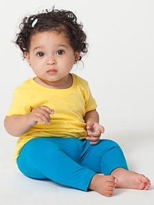 Infant Sheer Jersey Short Sleeve T-Shirt