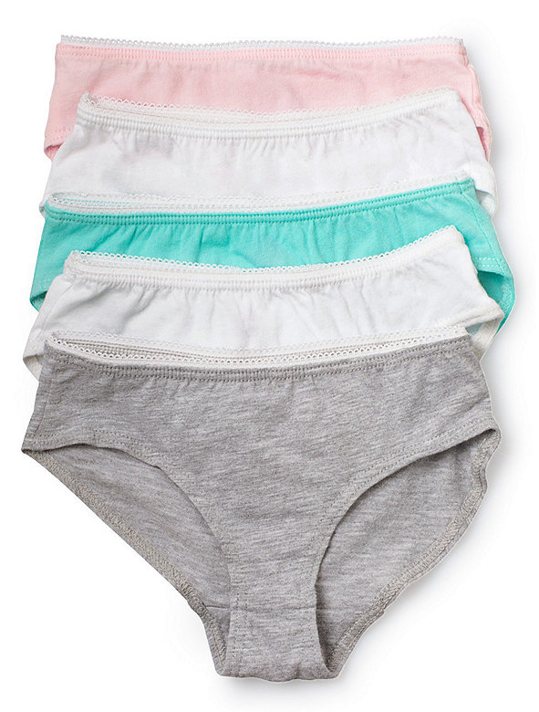 Kids Sheer Jersey Underwear (5-Pack)