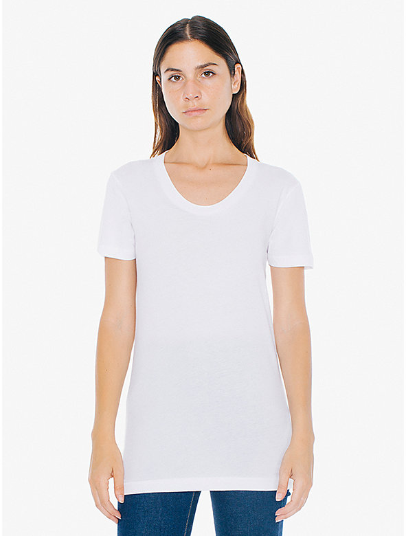 Sheer Jersey Short Sleeve Women's Summer T