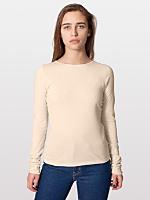 Sheer Jersey Long Sleeve T