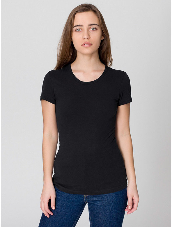 Sheer Jersey Cap Sleeve T