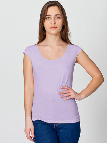 Sheer Jersey 2-Sided Top