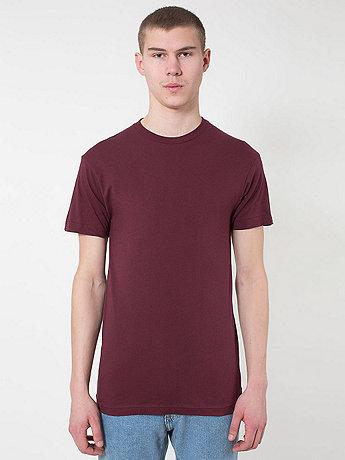 Sheer Jersey Short Sleeve Summer T-Shirt