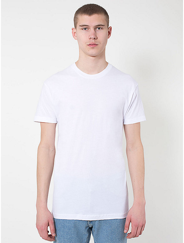Sheer Jersey Crewneck 'Summer' T-Shirt