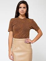 Unisex Acid Wash Jersey Short Sleeve T-Shirt