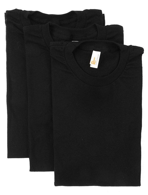 Sheer Jersey Short Sleeve  Summer T-Shirt (3-Pack)
