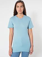 Unisex Sheer Jersey Short Sleeve Summer T-Shirt