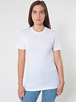 Unisex Sheer Jersey Short Sleeve Summer T-Shirt