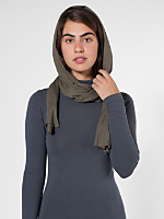 Unisex Sheer Jersey Scarf