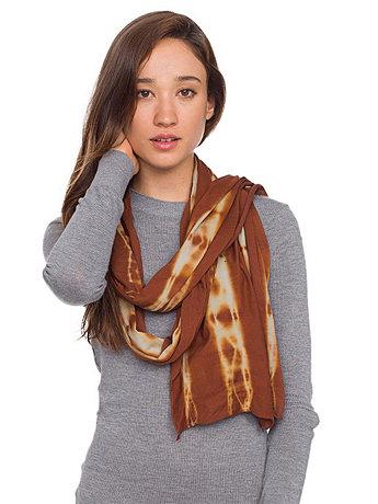 Unisex Tie Dye Sheer Jersey Scarf