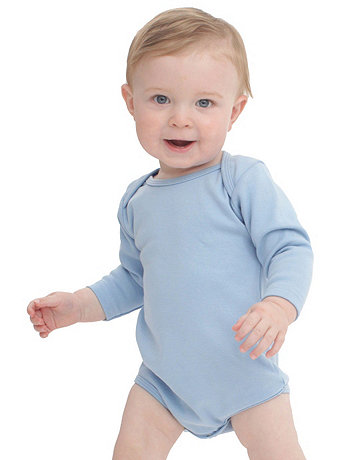 Infant Interlock Long Sleeve One-Piece