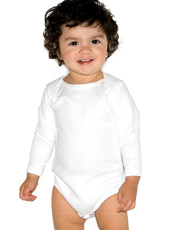 Infant Interlock Long Sleeve One-Piece