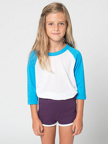 Kids Interlock Running Short