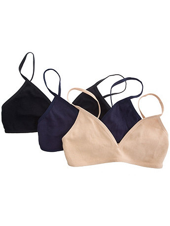 Interlock Bra (3-Pack)