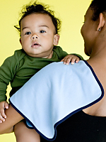 Infant Interlock Burp Cloth