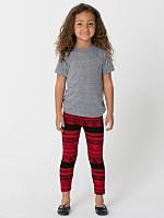 Kids Afrika Print Cotton Spandex Jersey Legging
