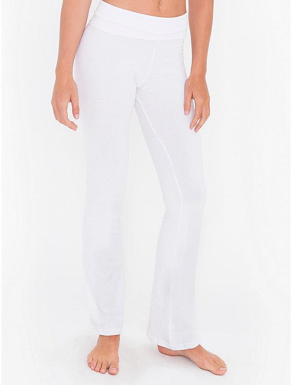 Cotton Spandex Jersey Yoga Pant