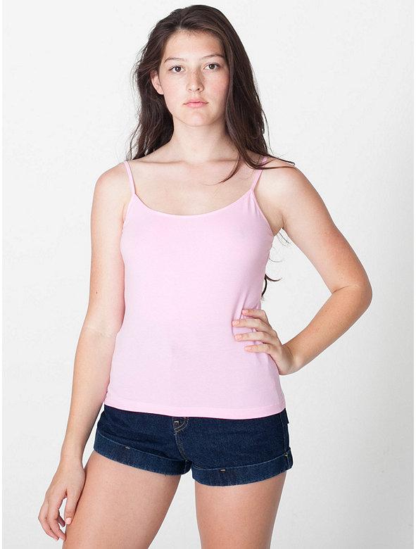 Cotton Spandex Jersey Camisole