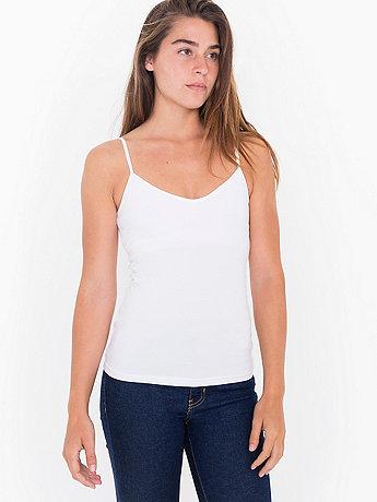 Cotton Spandex Jersey Bra-Cami