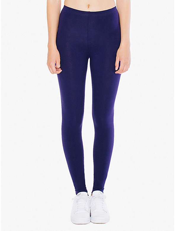 Cotton Spandex Jersey Legging
