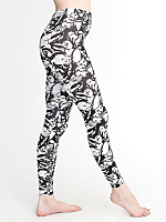 Cat Fancy Print Cotton Spandex Jersey Legging