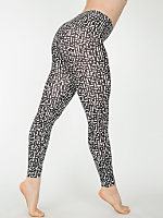 Energized Print Cotton Spandex Jersey Legging