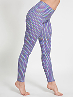 Lilac Arches Cotton Spandex Jersey Legging