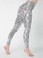 Python Print Cotton Spandex Jersey Legging