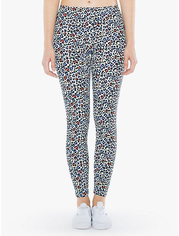 Cotton Spandex Jersey Legging