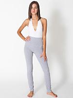 Cotton Spandex Jersey Straight Leg Yoga Pant