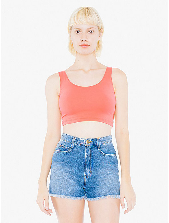 Cotton Spandex Crop Tank