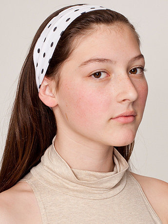 Cotton Spandex Jersey Headband