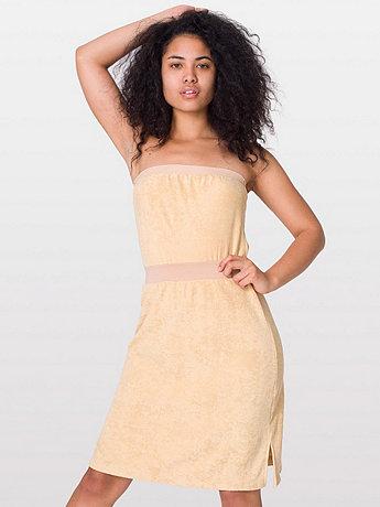 Loop Terry Tube Dress