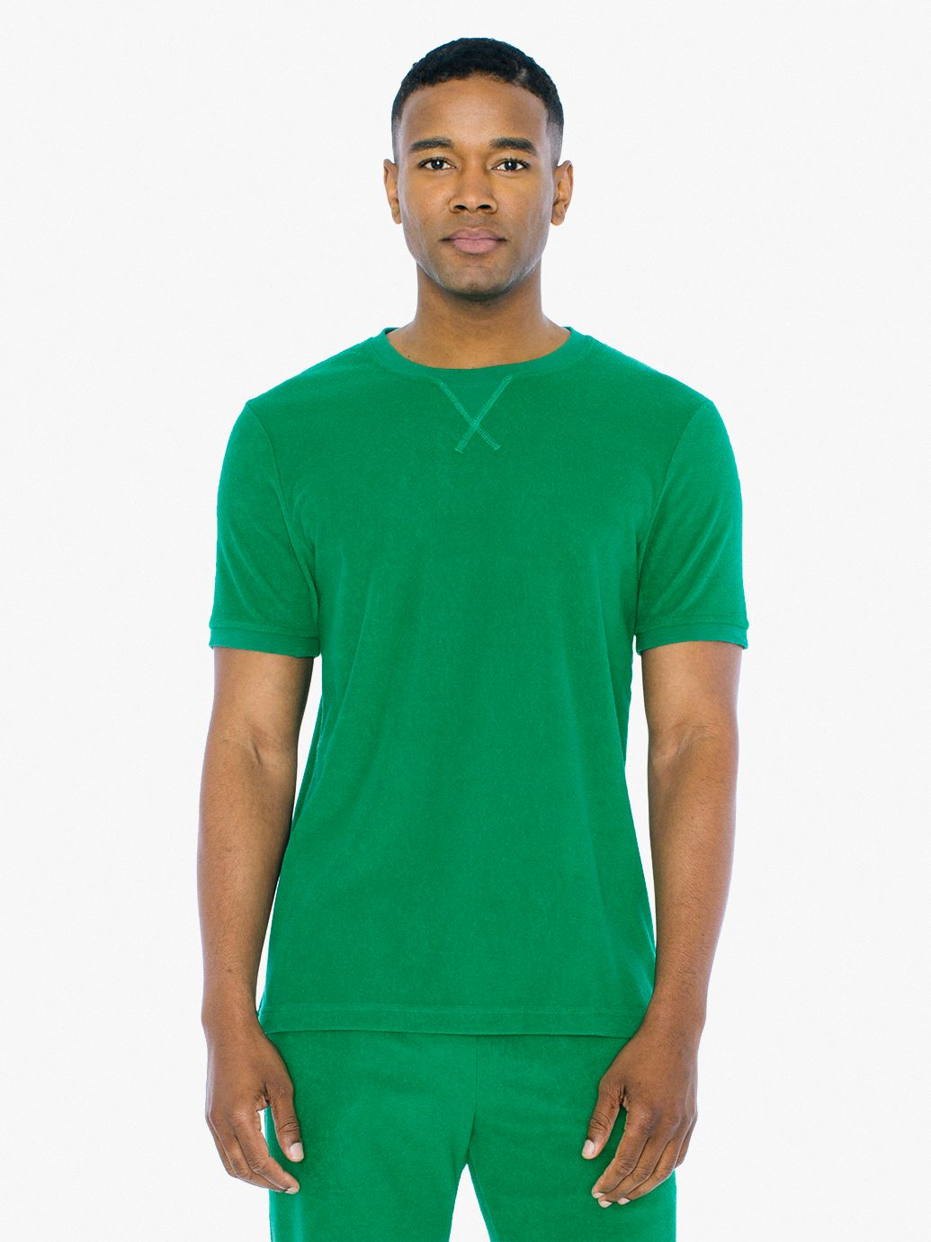 Loop Terry Sports T Shirt by American Apparel