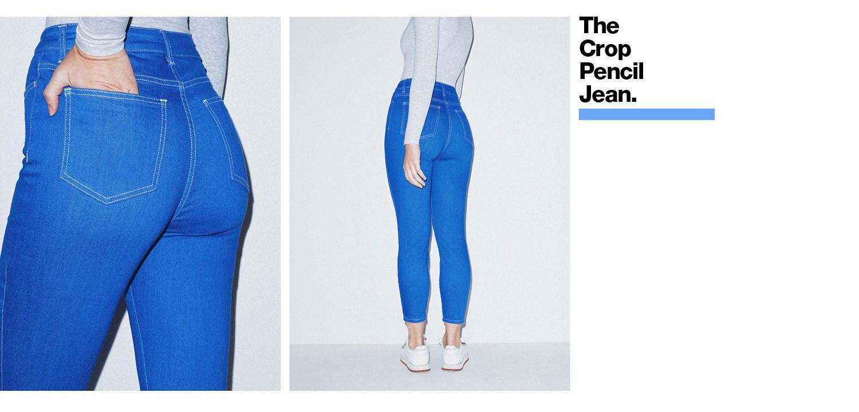 The Crop Pencil Jean