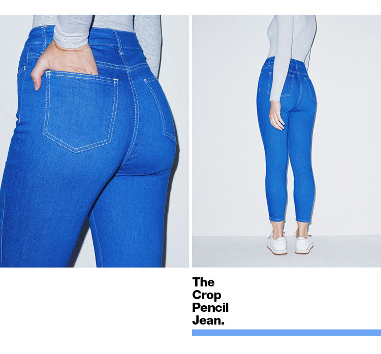 Crop Pencil Jean