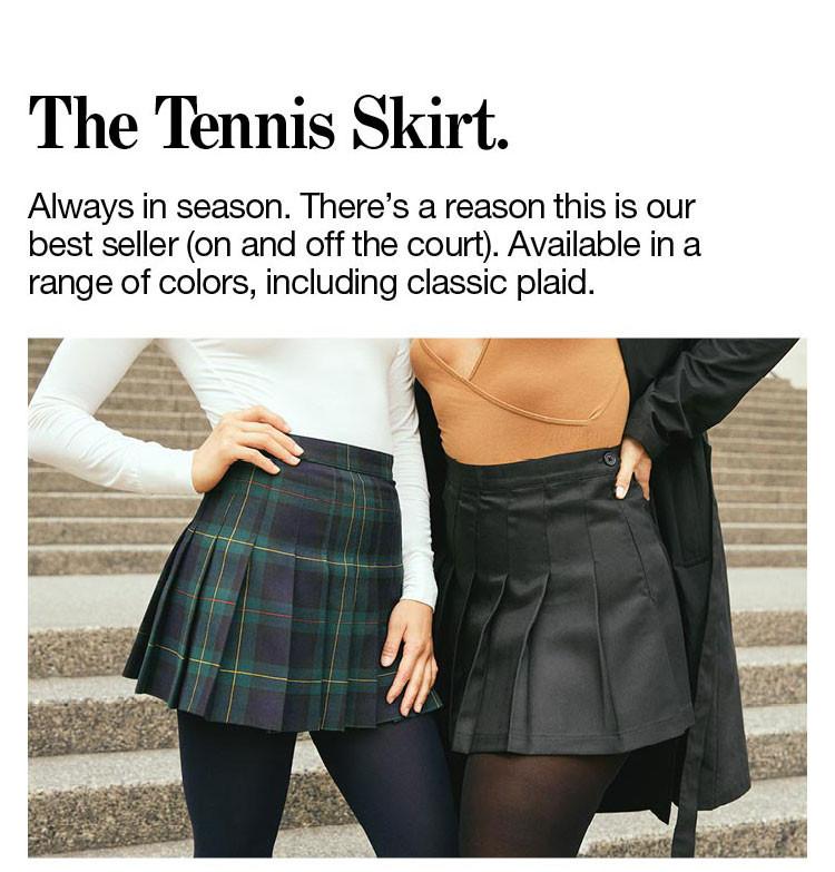 The Tennis Skirt