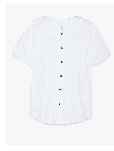 Thick Knit Baseball Jersey