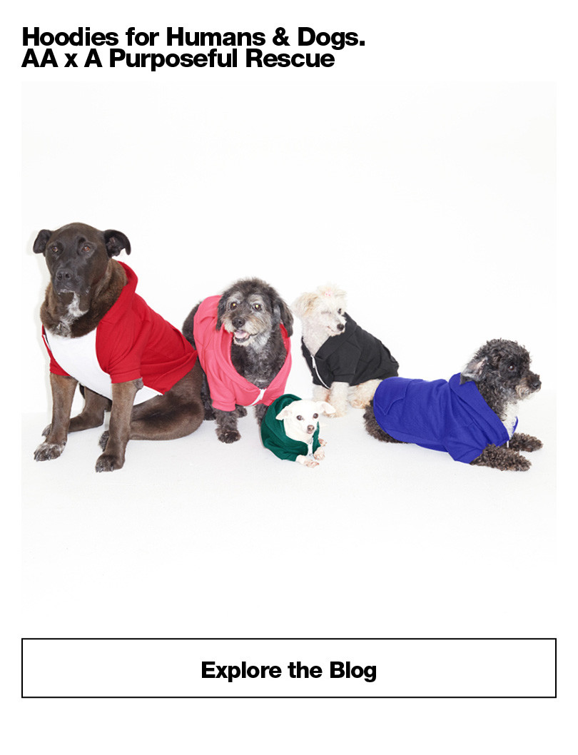 Hoodies for Humans & Dogs. AA x A Purposeful Rescue